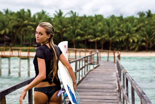 Get a surfer's body like Alana Blanchard with these 7 exercises for dry land #alanablanchard