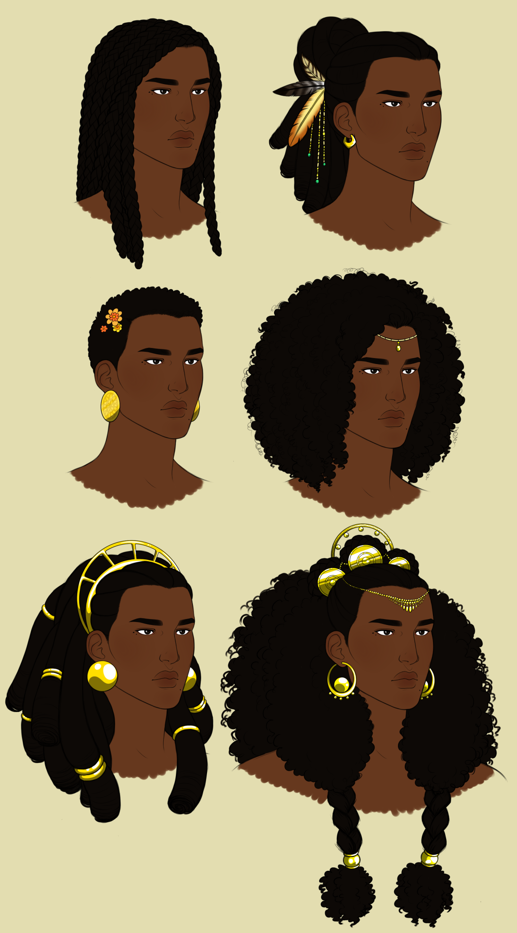 Oh Africa Captainhawkinsart Minor Hair Study For Elena Hairstyles Drawing Reference Hair Reference How To Draw Hair