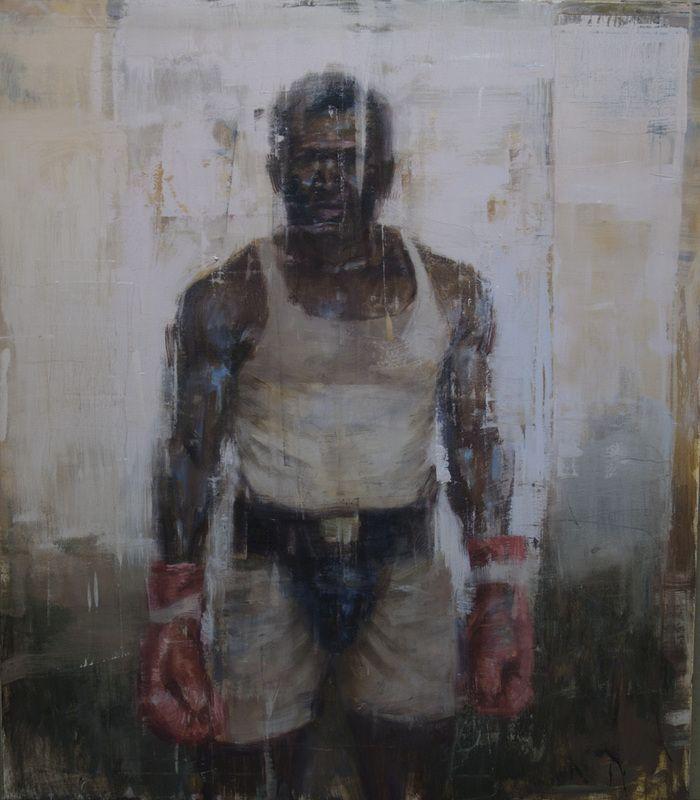 boxer at rest artist