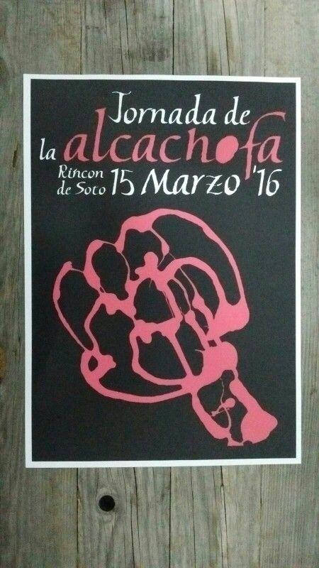 Cartel Jornadas Alcachofa Rincón de Soto V1