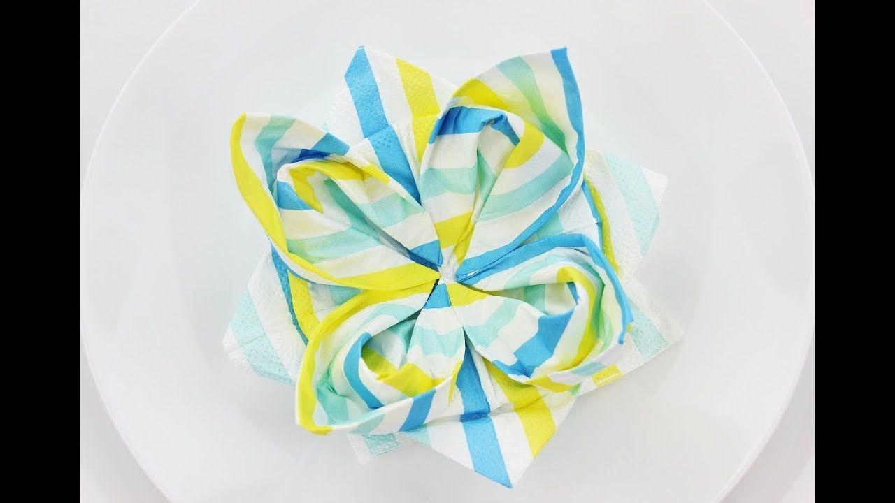 Fold a napkin into a flower flower shop near me flower shop best napkin folding images on pinterest folding napkins how how to fold a napkin into a flower bud fold paper napkin into flower ozil almanoof co fold paper mightylinksfo