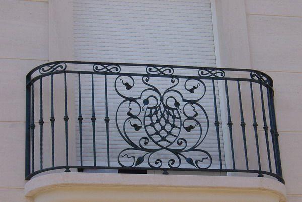 Wrought Iron Balconies Luyi Forge Iron Balcony Railing Iron