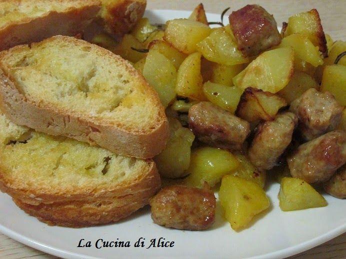 La Cucina di Alice: Salsiccia di pollo e Patate...al forno!