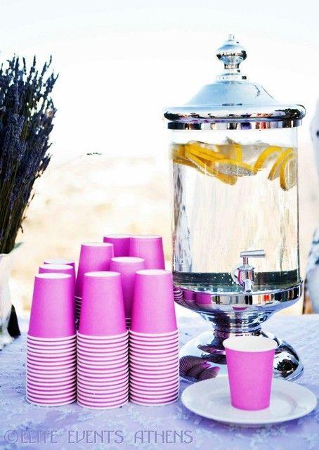Lavender, Lilac, Island, Santorini, Greece Wedding Party Ideas | Photo 25 of 102 | Catch My Party