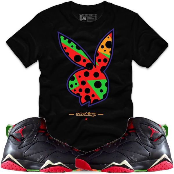 8e2b44730055 Shirts and Shorts to match the Jordan Retro 7 Marvin the Martian shoes