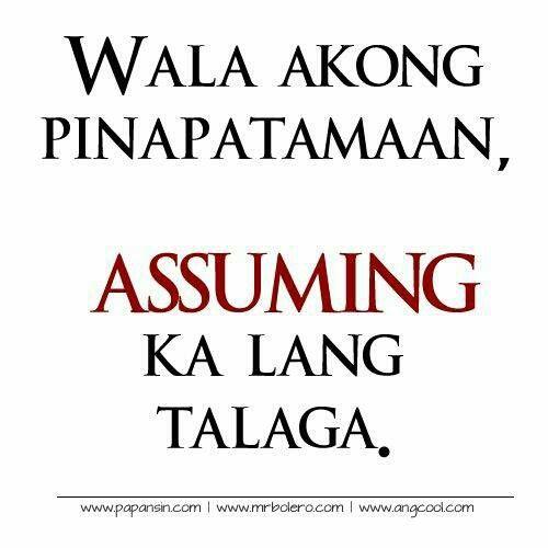 Ang Tamaan Guilty Tagalog Love Quotes Tagalog Quotes Funny Tagalog Quotes Hugot Funny