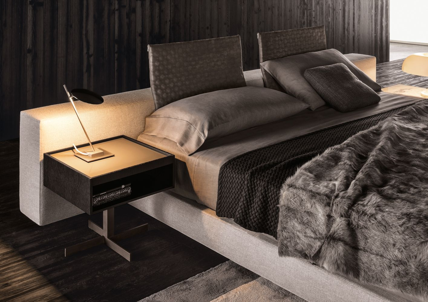Minotti Mobili ~ Contemporary divan bed yang by minotti bedrooms bed room and room