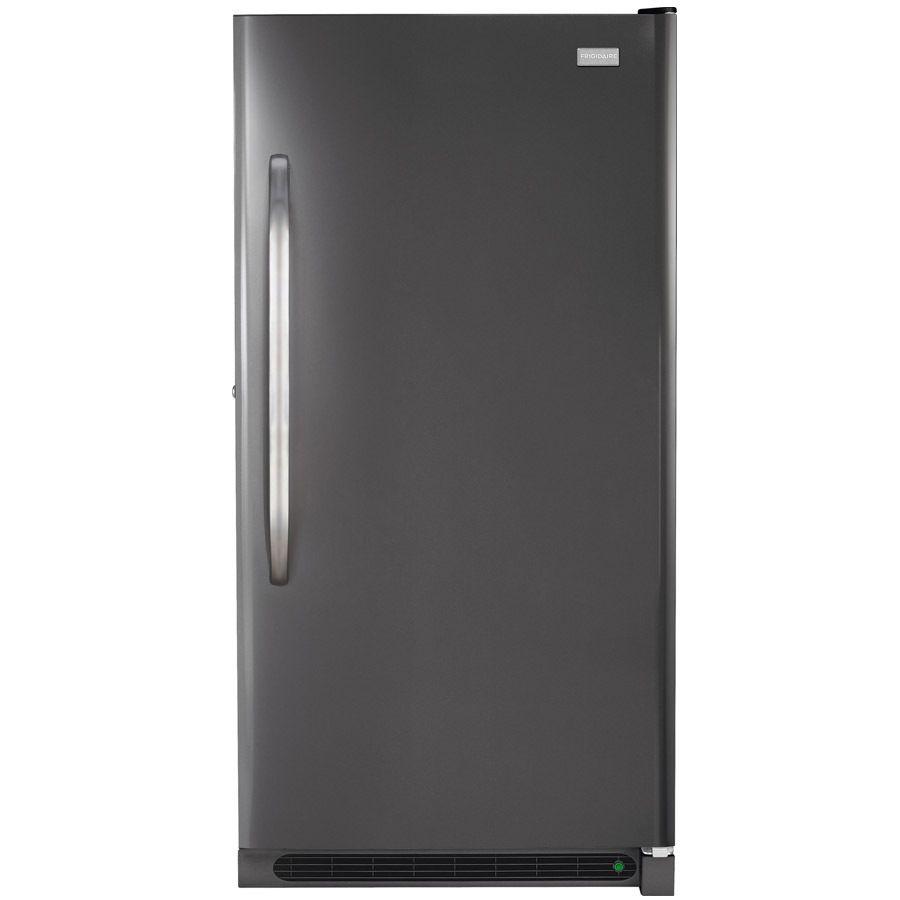 Frigidaire 166cu ft frostfree upright freezer slate