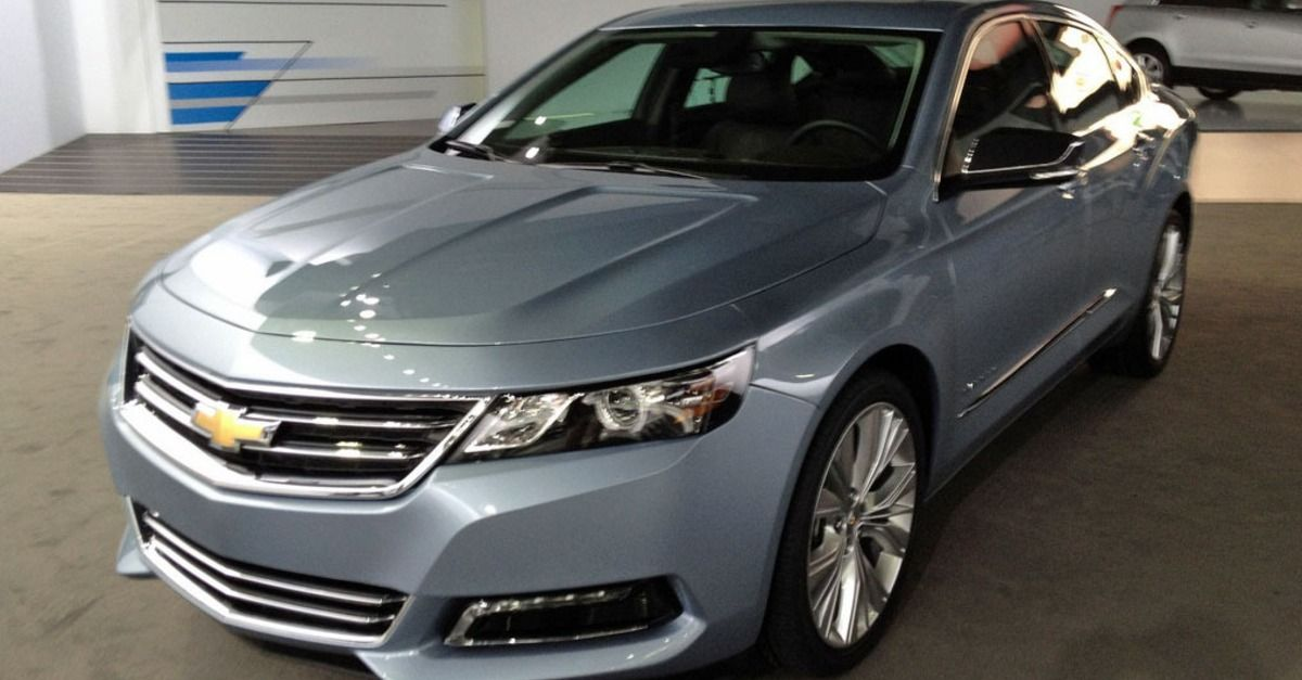Is The Chevy Impala For High Tech Families Chevy Impala