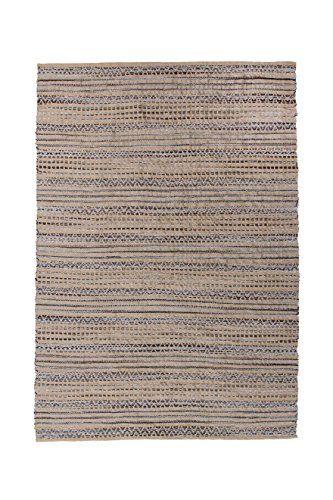 Teppich Wohnzimmer Carpet Modern Design Sienna 710 Rug Geflochten