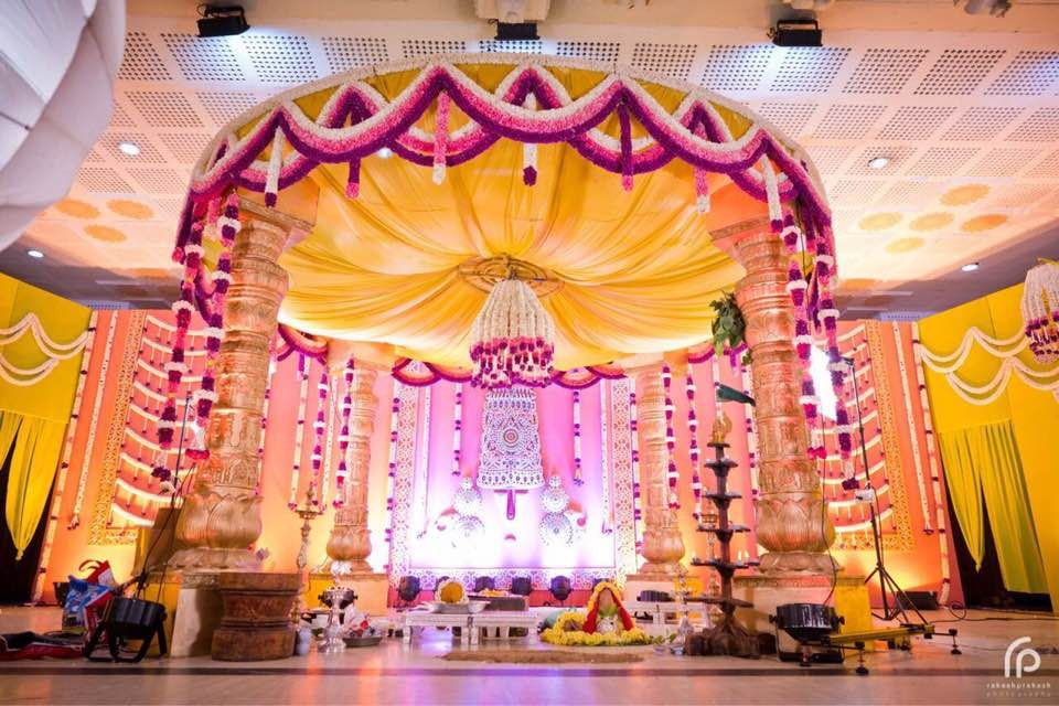 Indian Wedding Decorations Reception Engagement Mandap Chairs