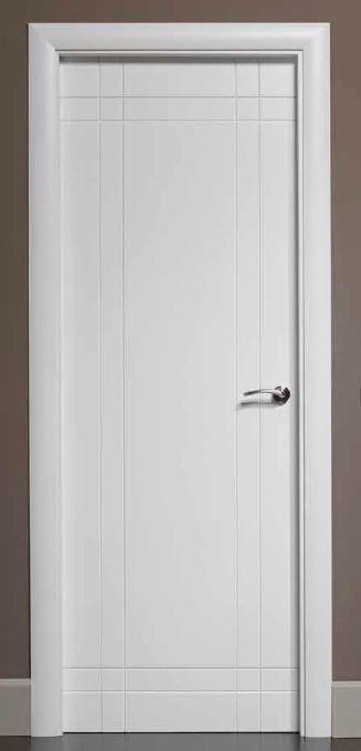 Puertas lacadas puerta lacada b528 socios aitim for Puertas interiores blancas