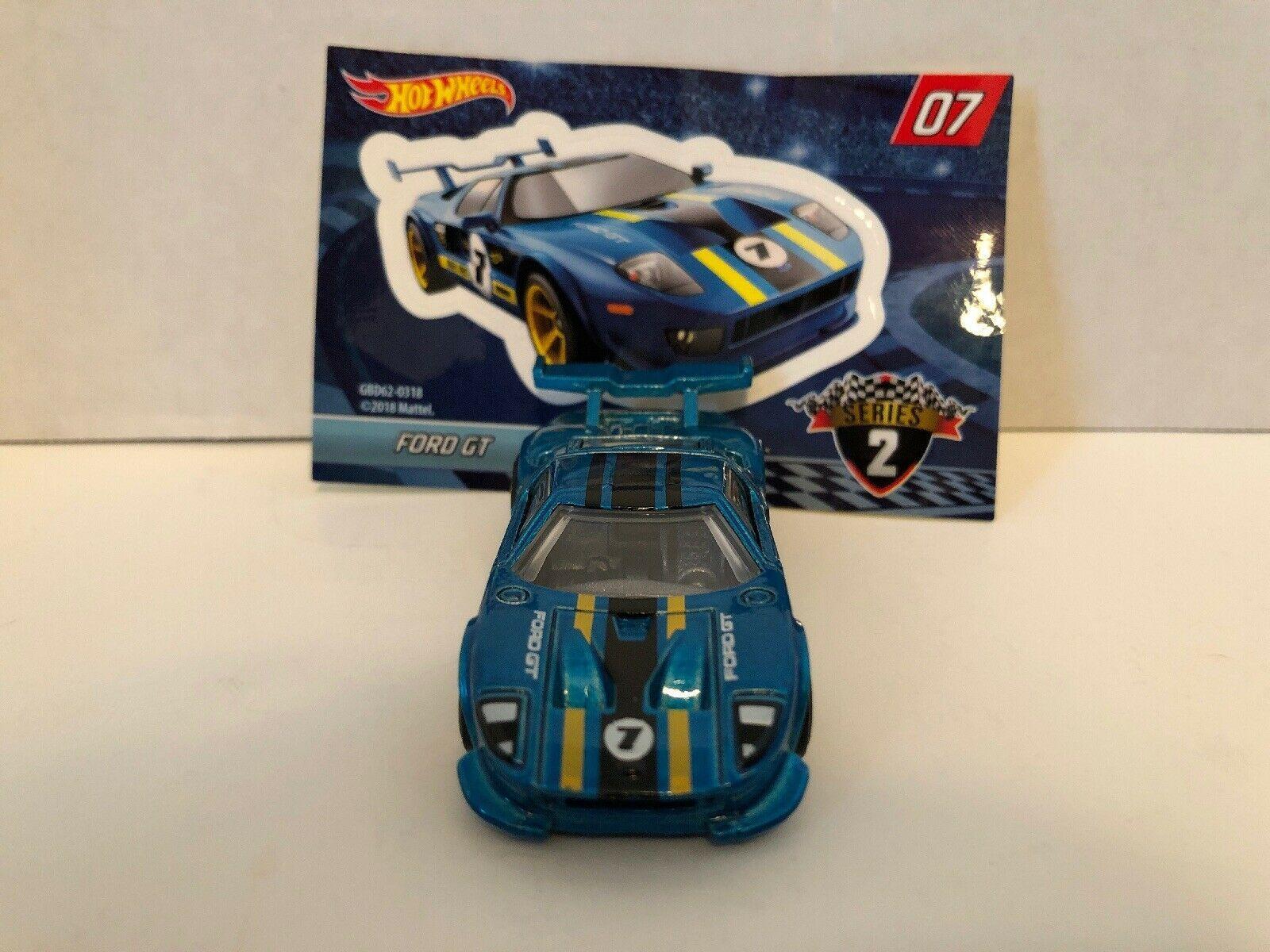 2017 Hot Wheels Rlc Ford Gt Race Prototype Super Rare Hotwheels