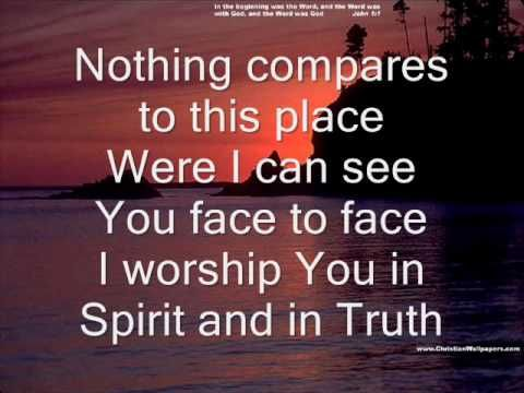 Come Holy Spirit fall on me now with lyrics | Spirit led