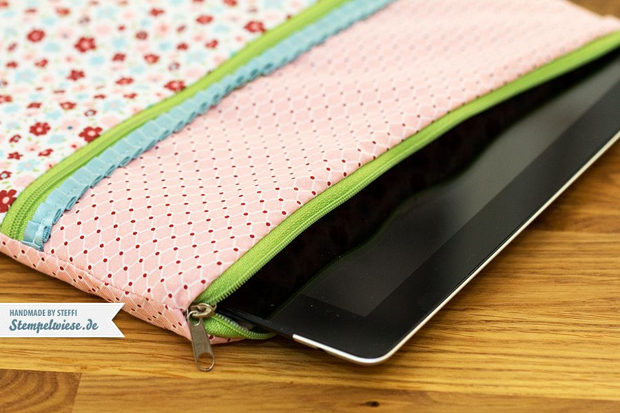 eine gen hte tasche f r mein ipad n hen sewing pinterest stempelwiese ipad und n hen. Black Bedroom Furniture Sets. Home Design Ideas