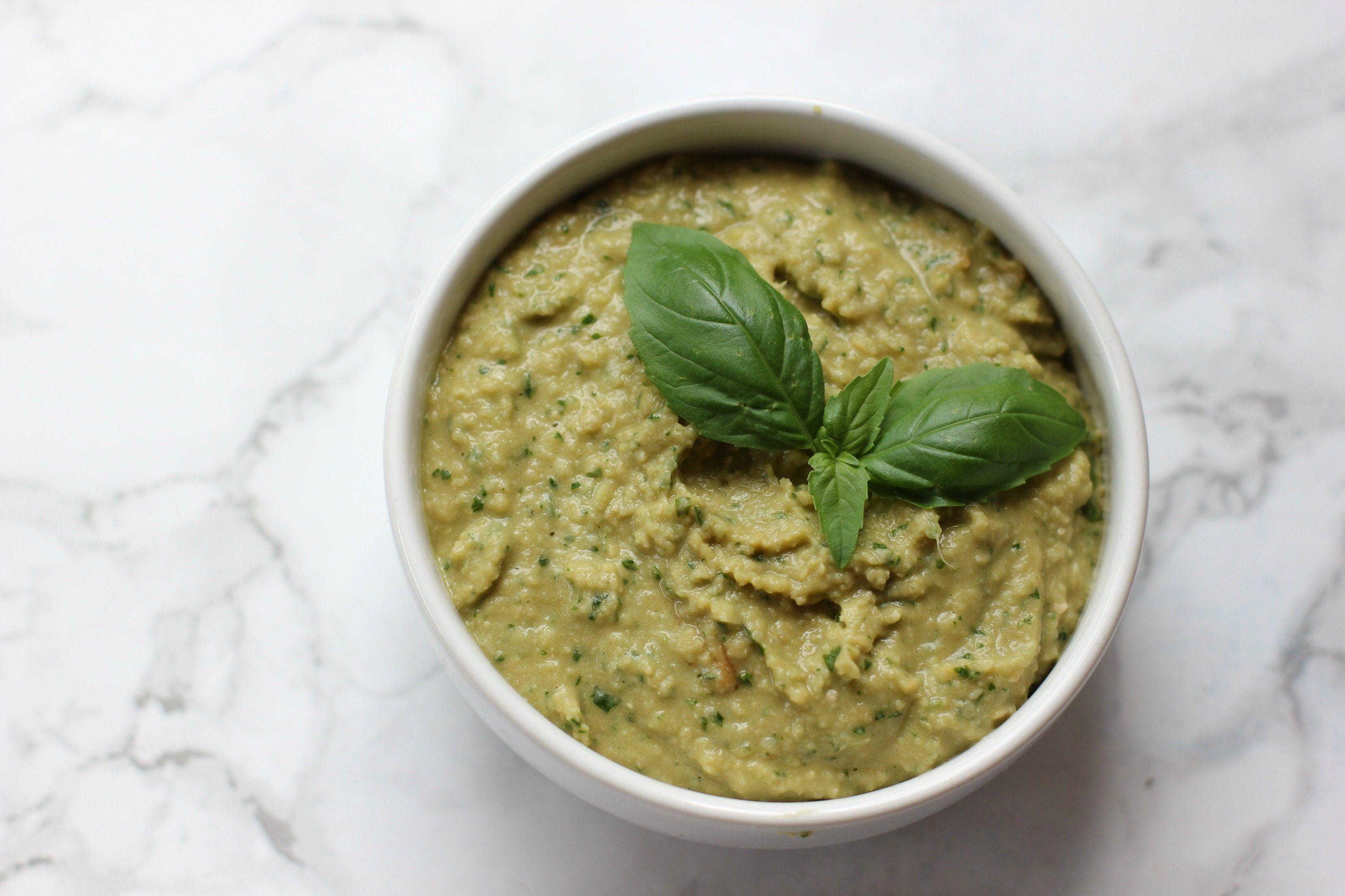Basil Pesto Hummus Recipe Hummus Pesto Hummus