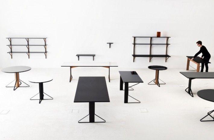 The Bouroullec 'Kaari' collection for Artek