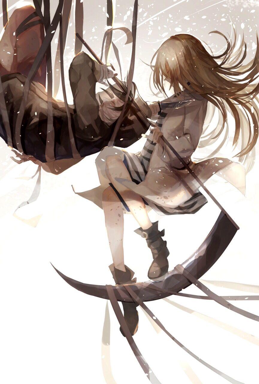 鎌を持った殺戮の天使