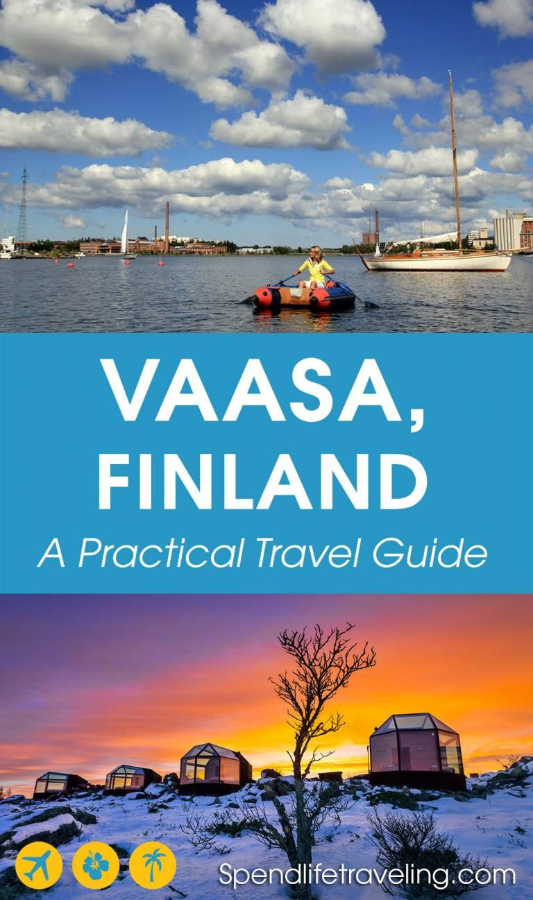 634381c4625  Vaasa is a cute city on the west coast of  Finland. Check out what to do