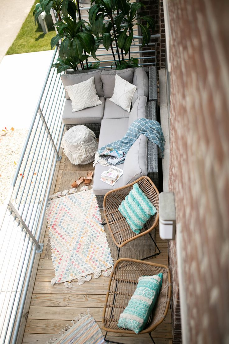 Patio Dreams #apartmentpatiodecorating