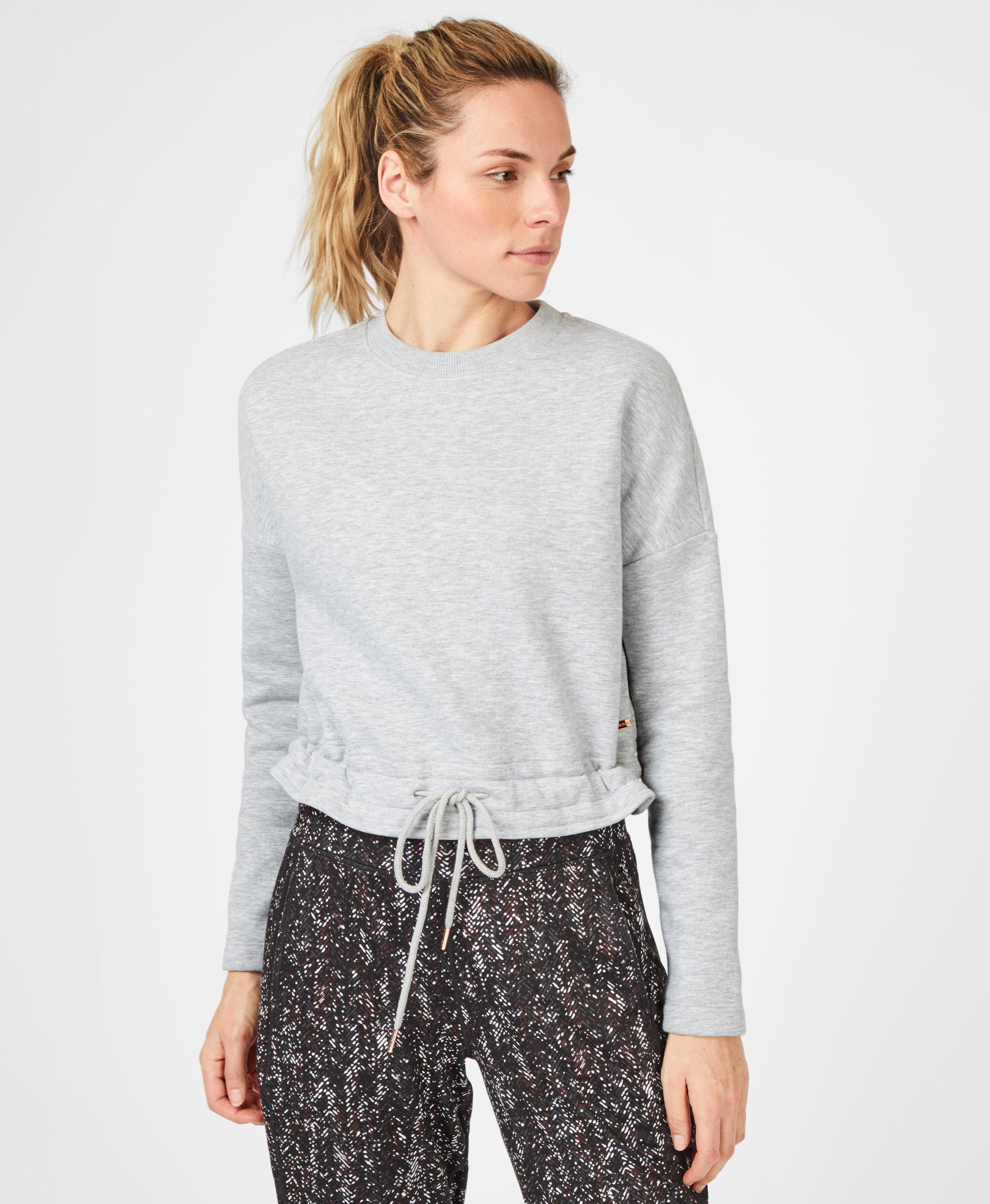 Cosmic Grey Marl Sweatshirt