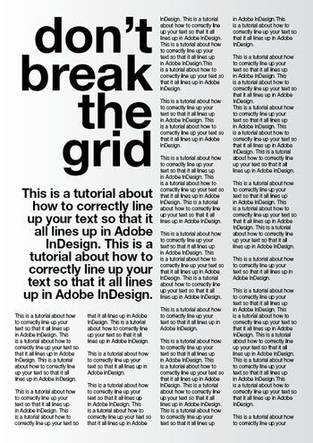 A Tutorial For Good Typography In Indesign Setting Up A