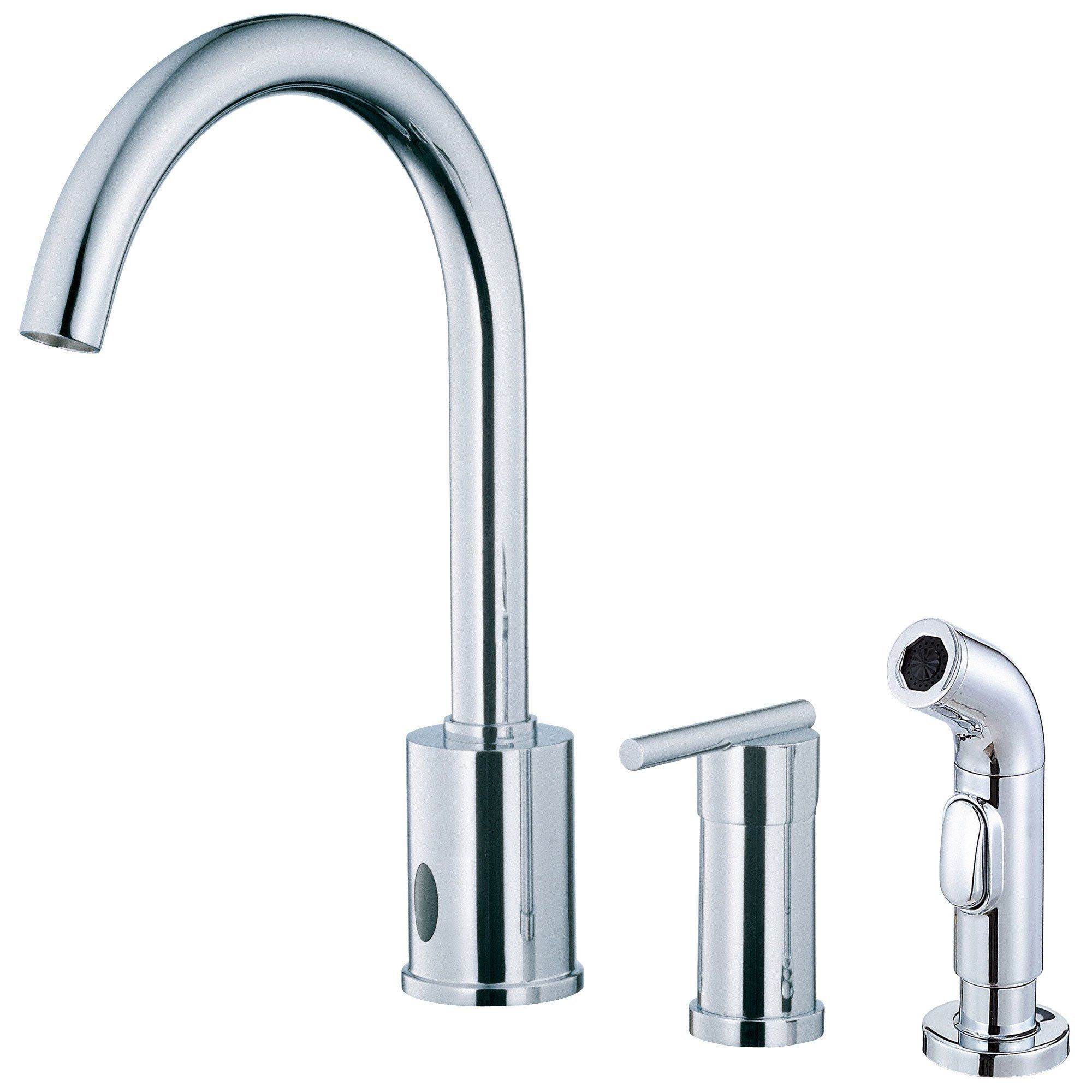 Danze Parma Chrome Electronic Eye Single Handle Kitchen Faucet