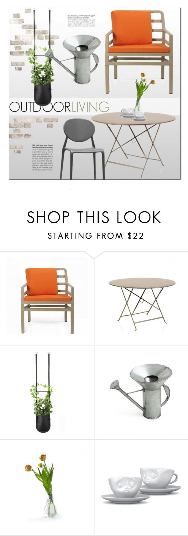 """Outdoors"" by lovethesign-eu ❤ liked on Polyvore featuring interior, interiors, interior design, home, home decor, interior decorating, Authentics, Internoitaliano, Serax and Home"