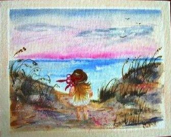 Scenic Scenes Course - Beach Girl