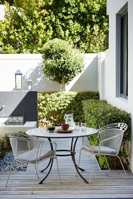 Garden patio and decking ideas | Small gardens, Garden ideas and Gardens