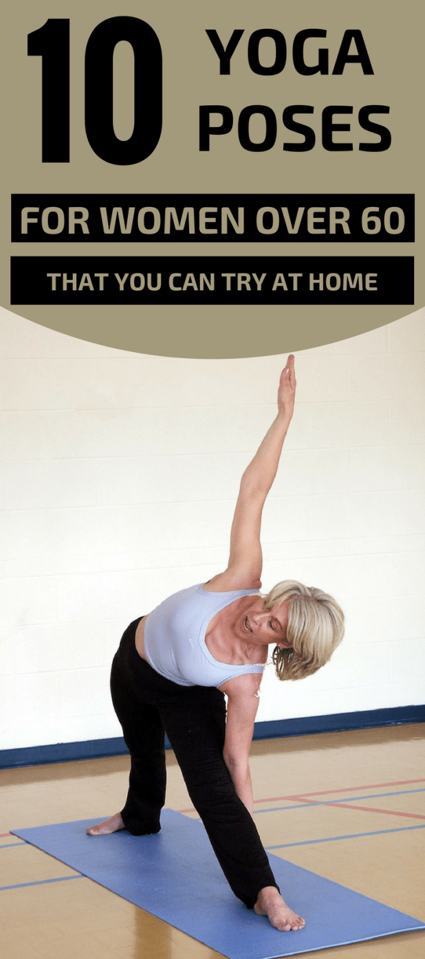 Yoga Poses For Beginners Over 60