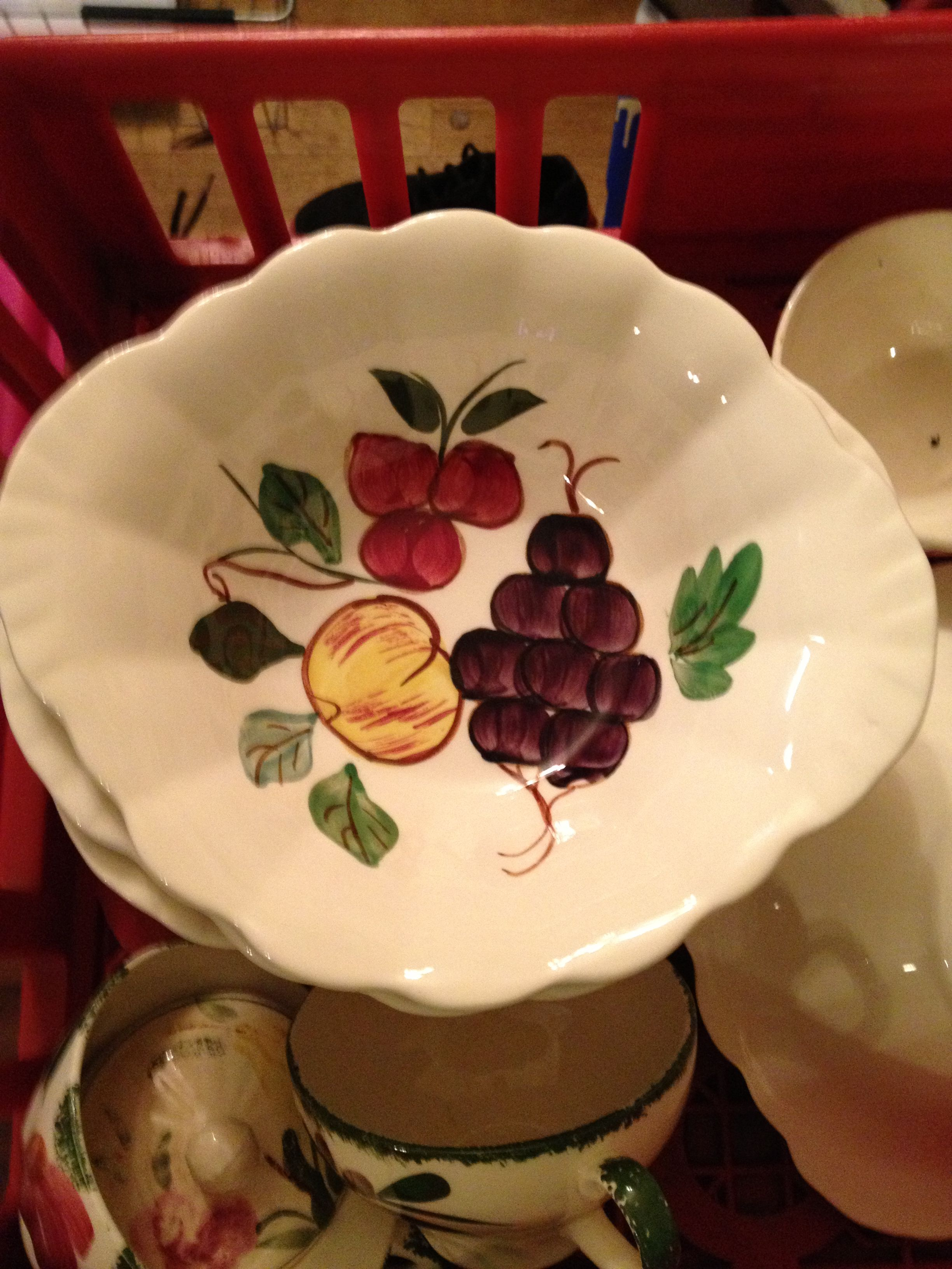 Find this Pin and more on Blue Ridge Dinnerware by mkby. & Blue Ridge Pottery Dinnetware   Blue Ridge Dinnerware   Pinterest ...