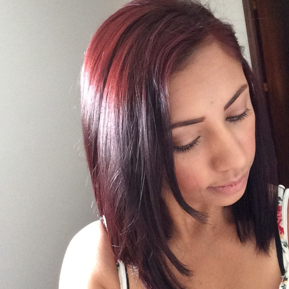 Dark Redburgundy Used 30 Volume Developer Loreal Excellence