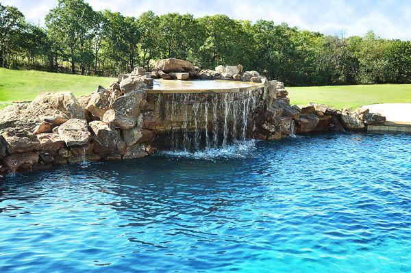 Beautiful Tribal Custom Pools Custom Pools Sitting