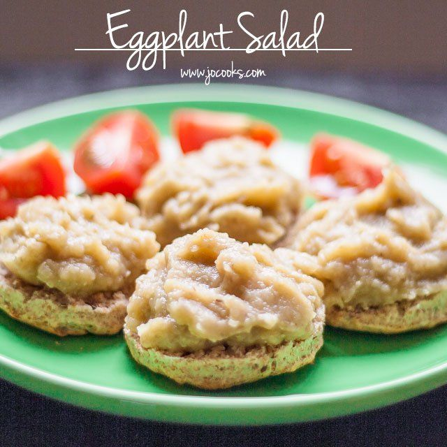 Eggplant Salad is a traditional Romanian eggplant dip or spread, known as salata de vinete, served with bread and with a side of tomatoes. Super delicious!