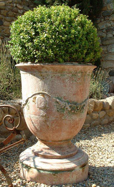 Vase d\'Anduze Plus   Pots   Pinterest   Jardins, Poterie et Pots