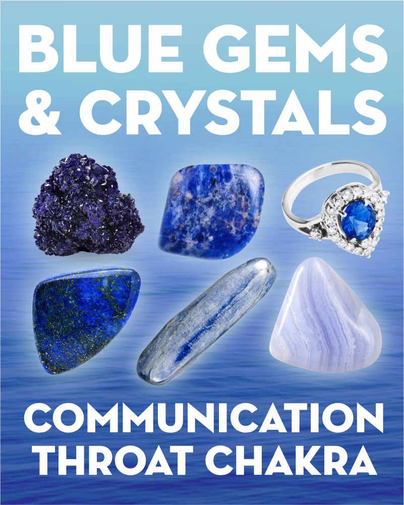 What Do Blue Gemstones Crystals Mean Dark Blue Gemstone Blue Gemstones Jewelry Blue Gemstones