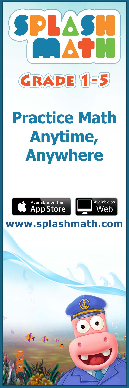 Splash Math - Grades 1 to 5 is an online math practice program where ...
