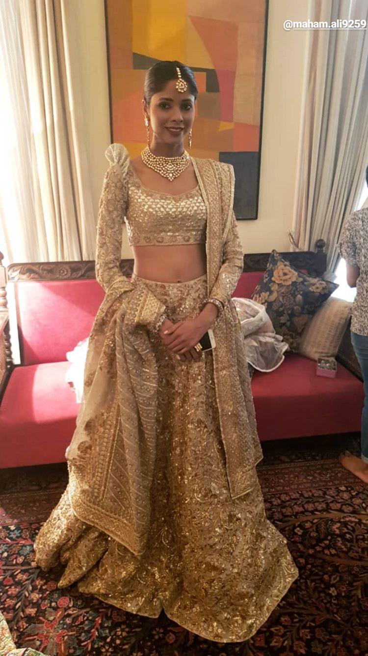 The house of kamiar rokni pakistani couture bridal lehenga