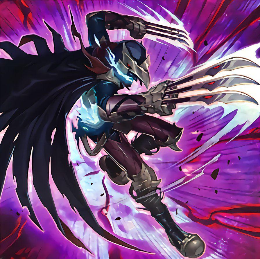 The Phantom Knights Of Mist Claws By Newarkantos Deviantart Com On Deviantart Yugioh Monsters Fantasy Monster Yugioh