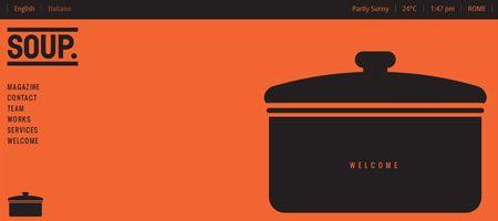 SOUP. Agency website. Beautiful.