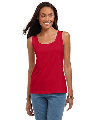Charter Club Top, Polished Layering Shell - Womens Tops - Macy's