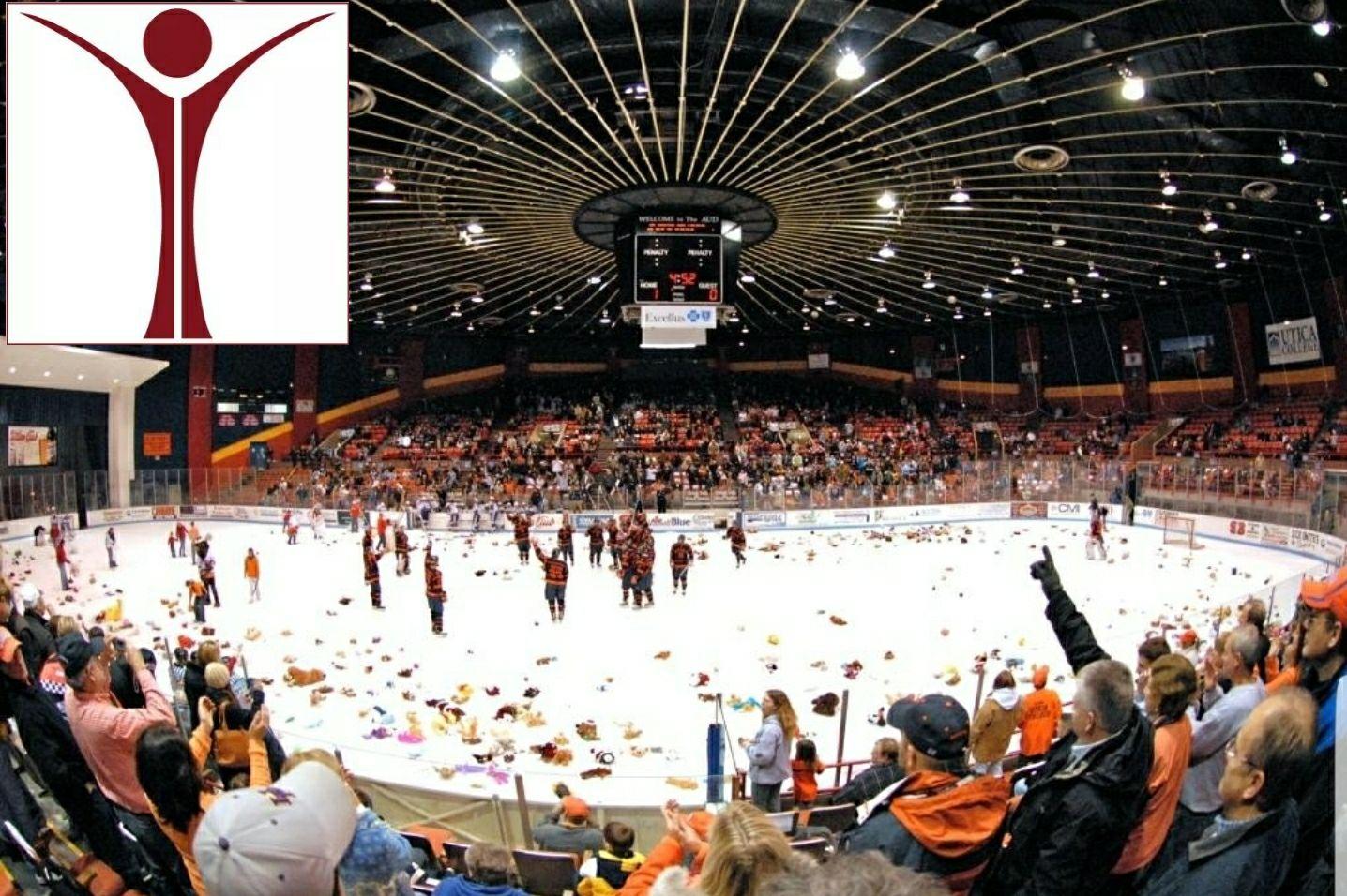 Utica College Hockey Night Pioneers Vs Manhattanville Let S Go Pioneers Utica College Hockey Utica College
