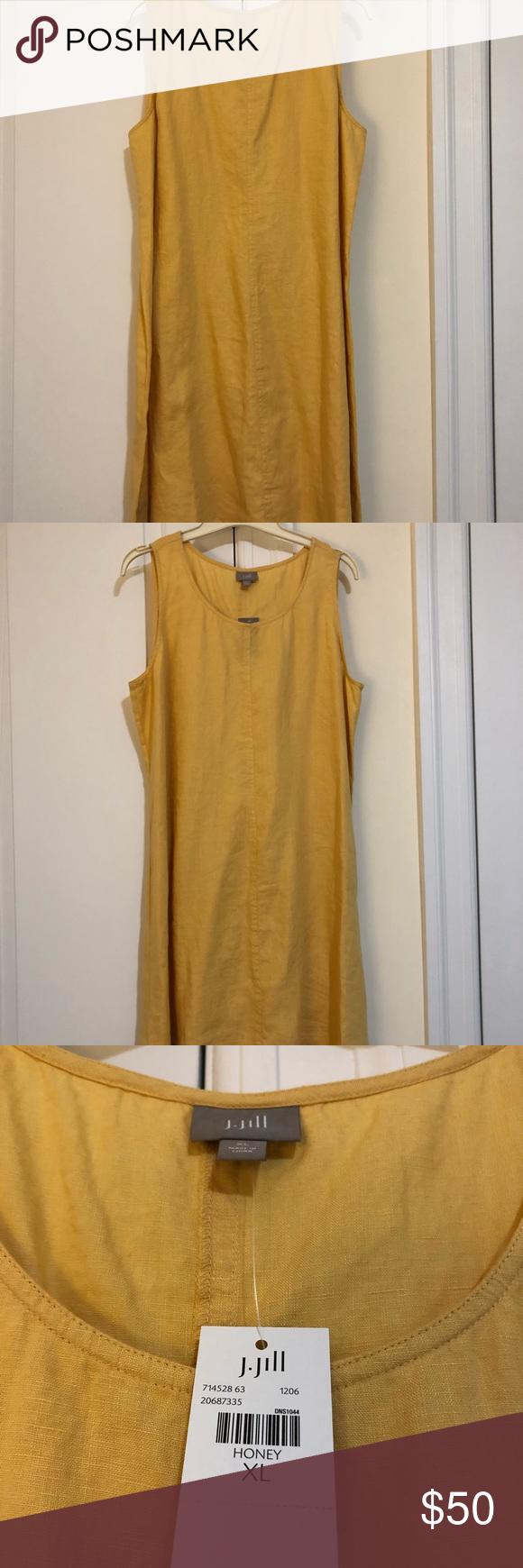 J Jill Sleeveless Linen Dress Sleeveless Linen Dress Jill Dress Clothes Design [ 1740 x 580 Pixel ]
