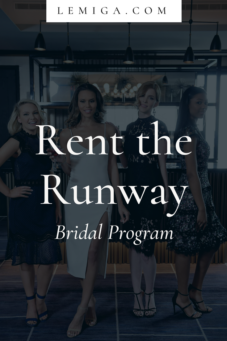 Rent your wedding dress  Have you heard of Rent the Runway Itus the best way to find an