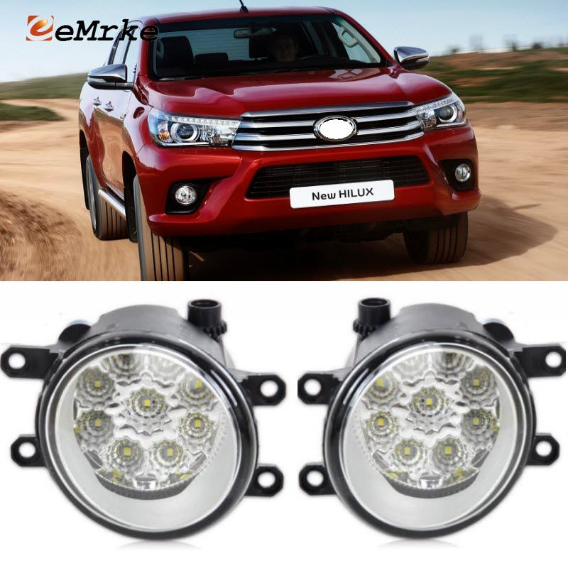 Eemrke For Toyota Hilux Vigo 2015 Up Car Styling Smd 9 Pieces Led