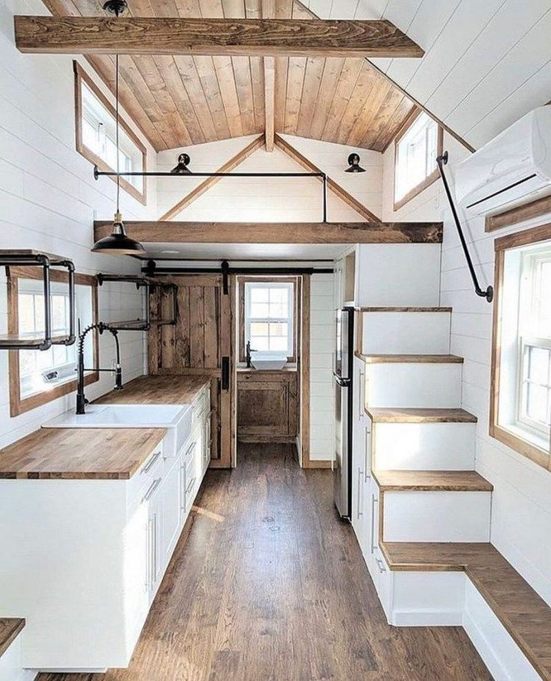 52 Modern Tiny House Plan Design that Will Inspire You #buildingahouse