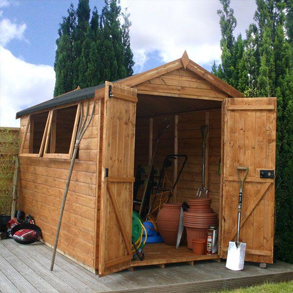 10 X 6 Waltons Groundsman Tongue And Groove Apex Garden Shed Shed Garden Shed Garden Sheds For Sale
