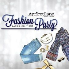 #Fashion Party! Host a Fashion Party at Apricot Lane Augusta at the Augusta Mall. Get Discounts on Cloths and win free stuff while to drink, snack and shop.