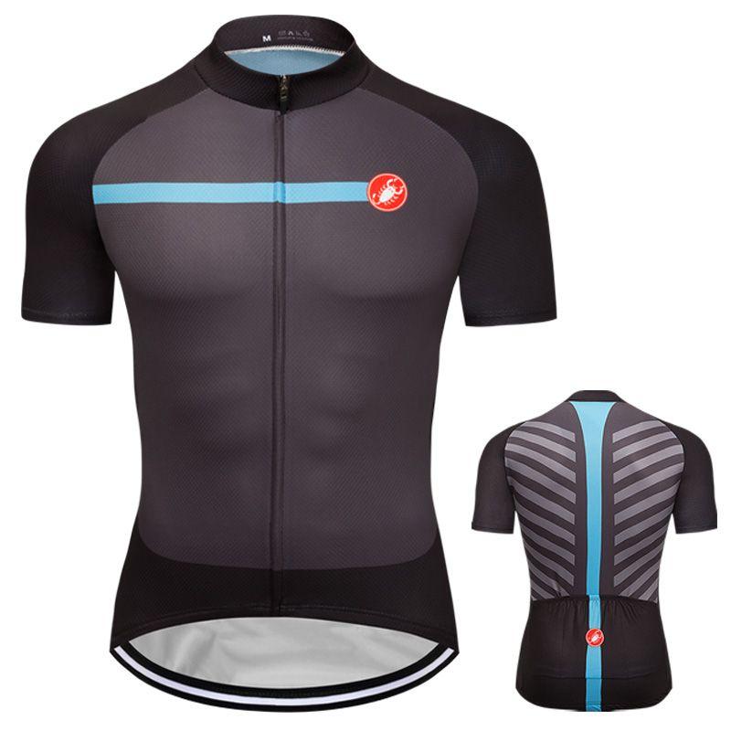2019 Unique Men Bike Cycling Jersey Bike Ride Short Sleeve Shirt Jersey Maillots